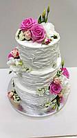 """Свадебный торт на заказ """"Живые цветы РОЗЫ"""", фото 1"""