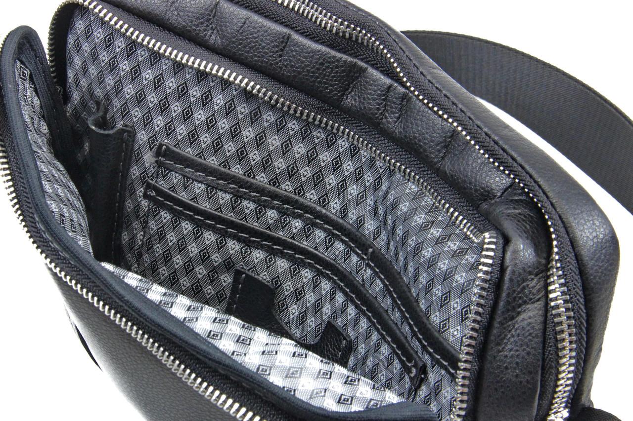 2d98b1365f7b Мужская кожаная сумка через плечо Tom Stone, цена 2 160 грн., купить в  Черкассах — Prom.ua (ID#371308812)