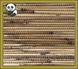 Натуральні шпалери Очерет дрібний, бамбук /світлий фон