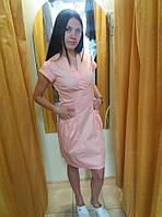 Медичне плаття коттон 22 МТ, фото 1