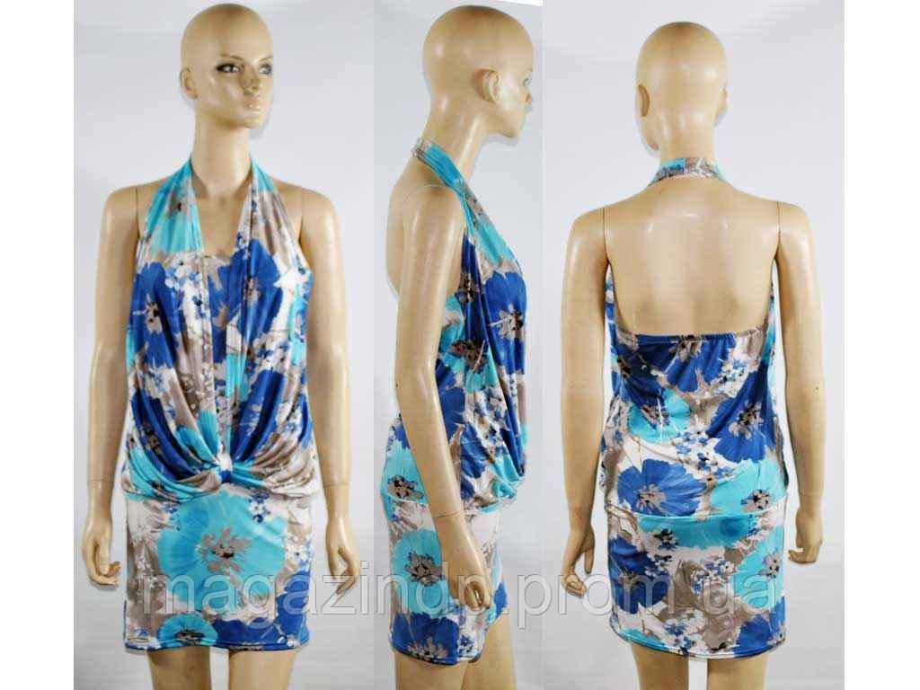 58628. Сукня жіноча (віскоза) кольорова Ш