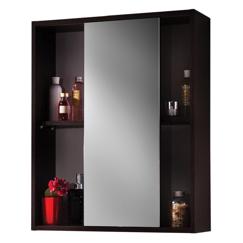 "САНТЕХНИКА/4  KOLO+Colombo/Colombo Мебель/Шкаф Colombo ""Лотос Е65"" с зеркалом венге F14230001"