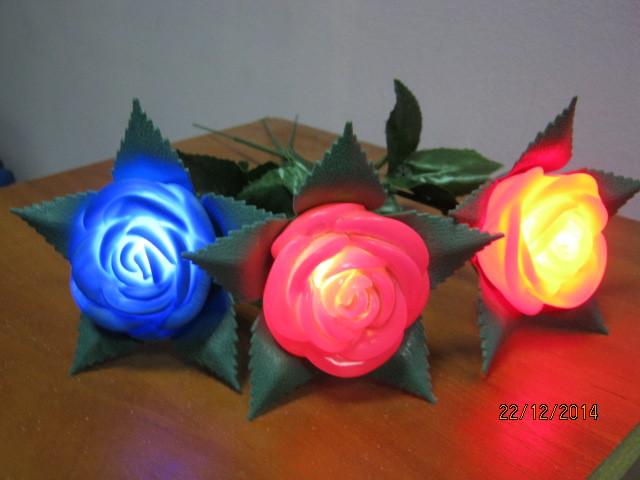 Светящиеся розы оптом.