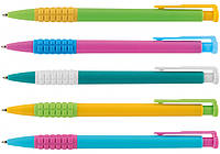 Ручка шариковая автоматическая. MERCURY ассорти, синяя