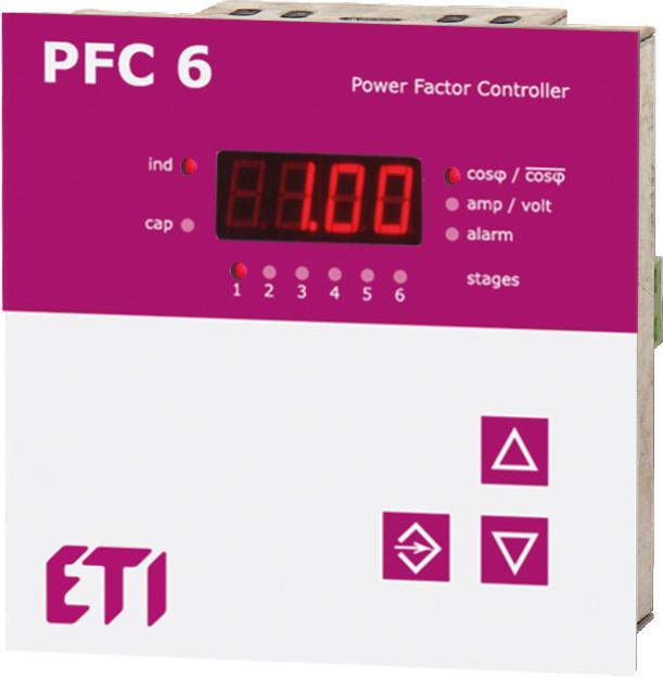 PFC 6RS ETI регулятор реактивной мощности