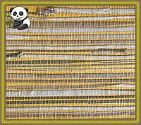 Копия Натуральные обои Травка, трава-камыш /желтый фон, фото 1
