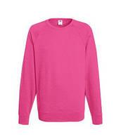 Розовый мужской свитер Fruit of the Loom LightWeight