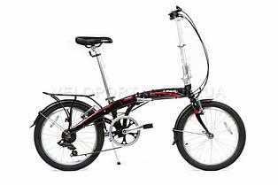 """Велосипед складаний Langtu KW 027 20"""" Black"""