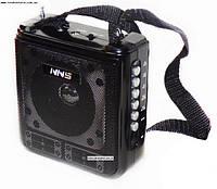 Радиоприемник USB колонка-плеер NS-064U-REC с ремешком