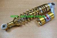 Амортизаторы Актив h-340 мм газо-масляные золото NDT