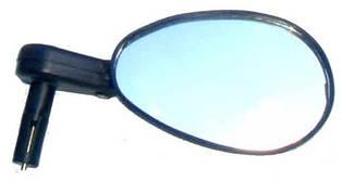 """Дзеркало X17 овальне 3"""" з кріпленням в трубу руля"""