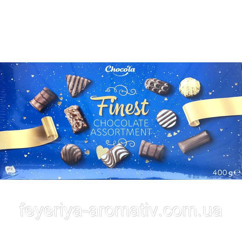 Коробка конфет ассорти Chocola Finest chocolate assortment, 400гр