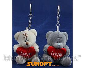 """Брелок Тедди """"LOVE"""" (6,5 см) №71002"""