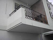 Кованые перила на балкон классика, фото 2