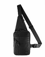 Тактическая наплечная сумка-кобура Elite Gen.IV черного цвета