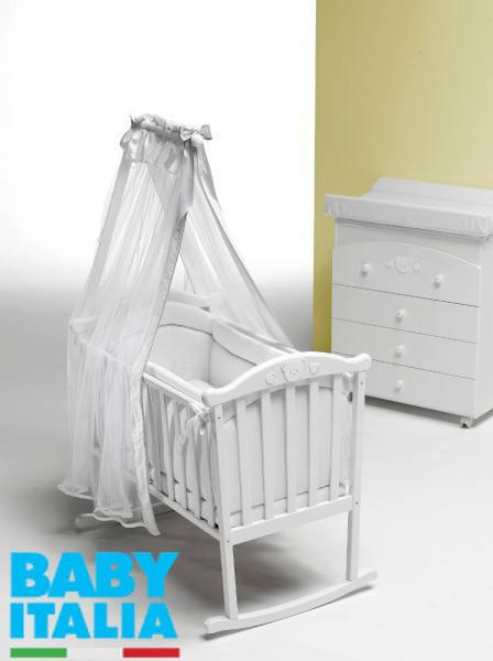 Люлька-колыбель Baby Italia Didi Culla White