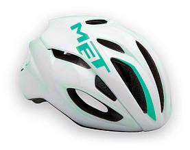 Шолом MET Rivale White/emerald green M 54-58