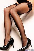Чулки Anne De Ales CAMILLA T3 Black, фото 1