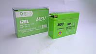 Аккумулятор 2.3A/12V MSU GEL узкий