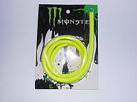 Бензошланг + бензофильтр Monster Energy 1 метр желтый