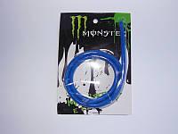 Бензошланг + бензофильтр Monster Energy 1 м синий