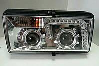 Передние фары ВАЗ 2107-2105-2104 (Хром)