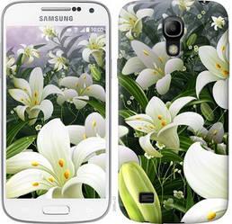 "Чехол на Samsung Galaxy S4 mini Белые лилии ""2686c-32-328"""