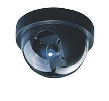 Купольная видеокамера цветная lux 19 shr, компактная, 650 твл, объектив 3,6 мм, питание от сети через адаптер
