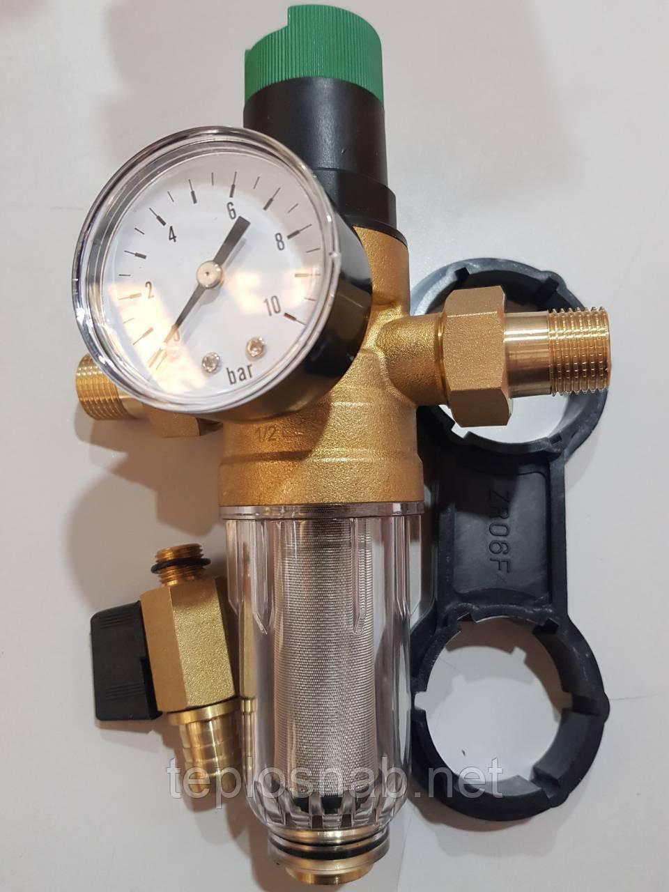 """Самопромывной фильтр с редуктором 1/2"""" KARRO (Испания) KR 8800 1/2"""""""