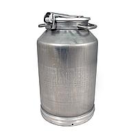 Фляга-бидон алюминиевая 25 литров