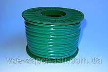Бензошланг резиновый d-4 мм 1 метр CMQ зеленый
