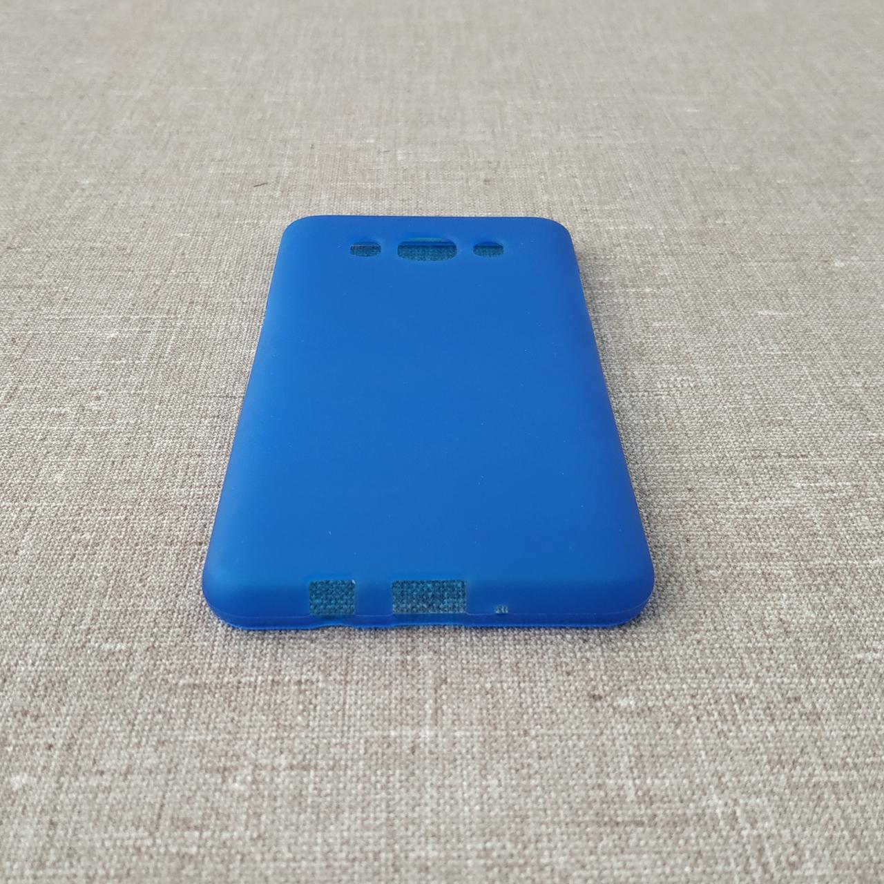Чехлы для Galaxy J Series (остальные модели) TPU Samsung J510 blue J5 (J530) 2017