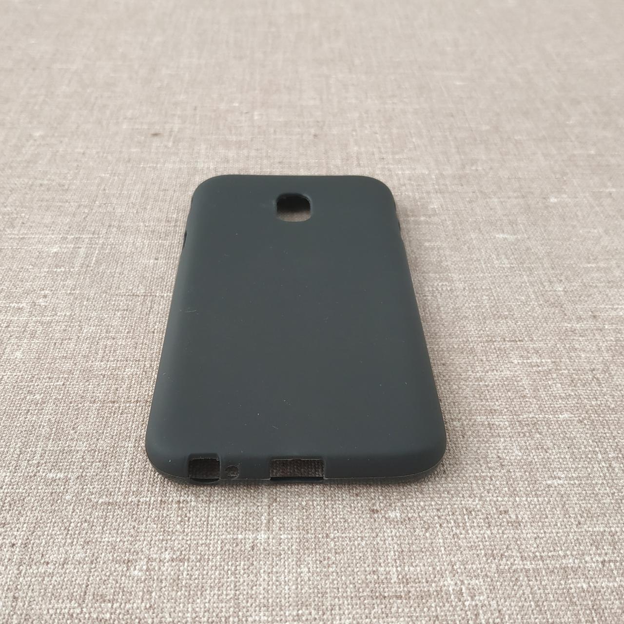 Чехол TPU Samsung Galaxy J330 black J3 (J330) 2017 Для телефона
