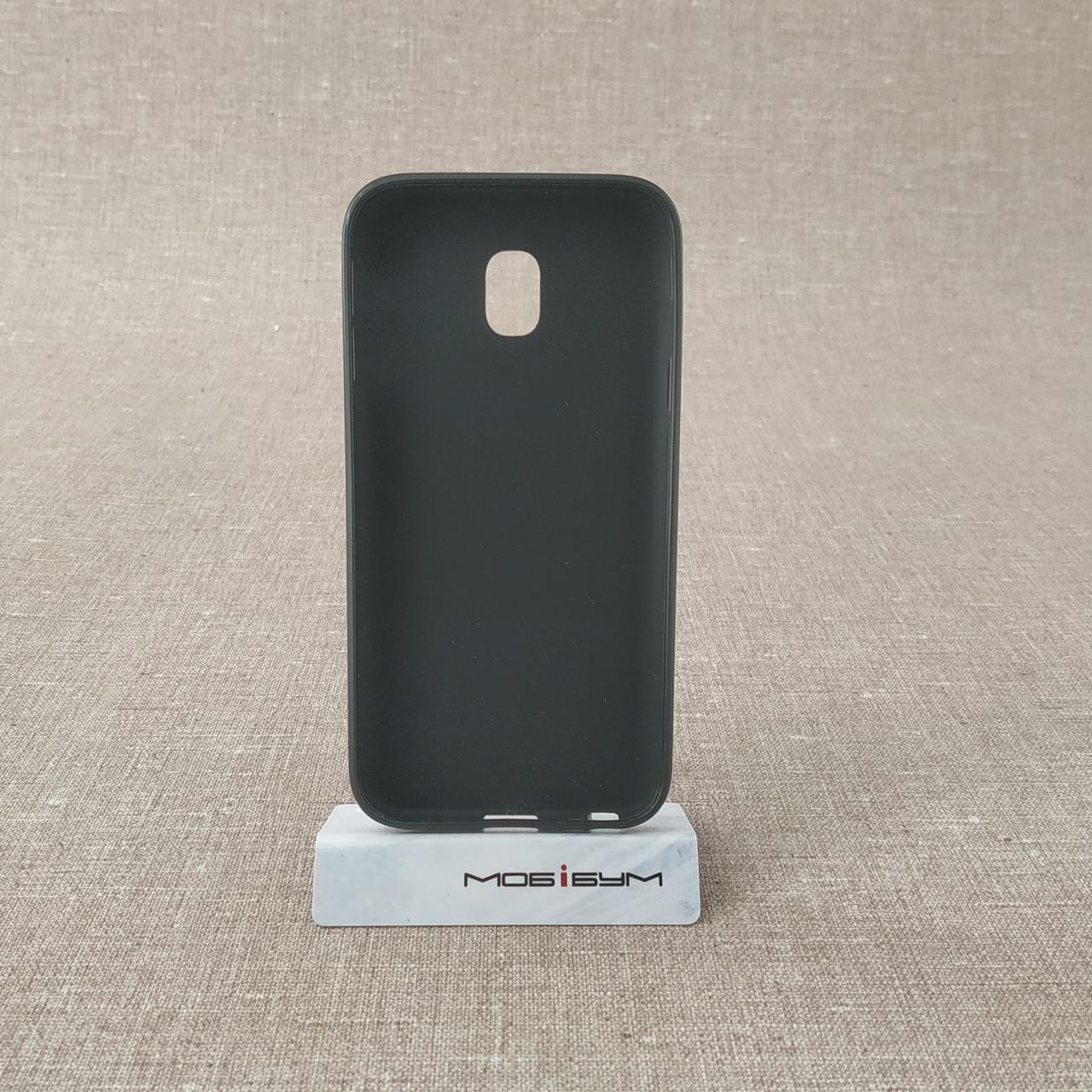 Чехол TPU Samsung Galaxy J330 black J3 (J330) 2017