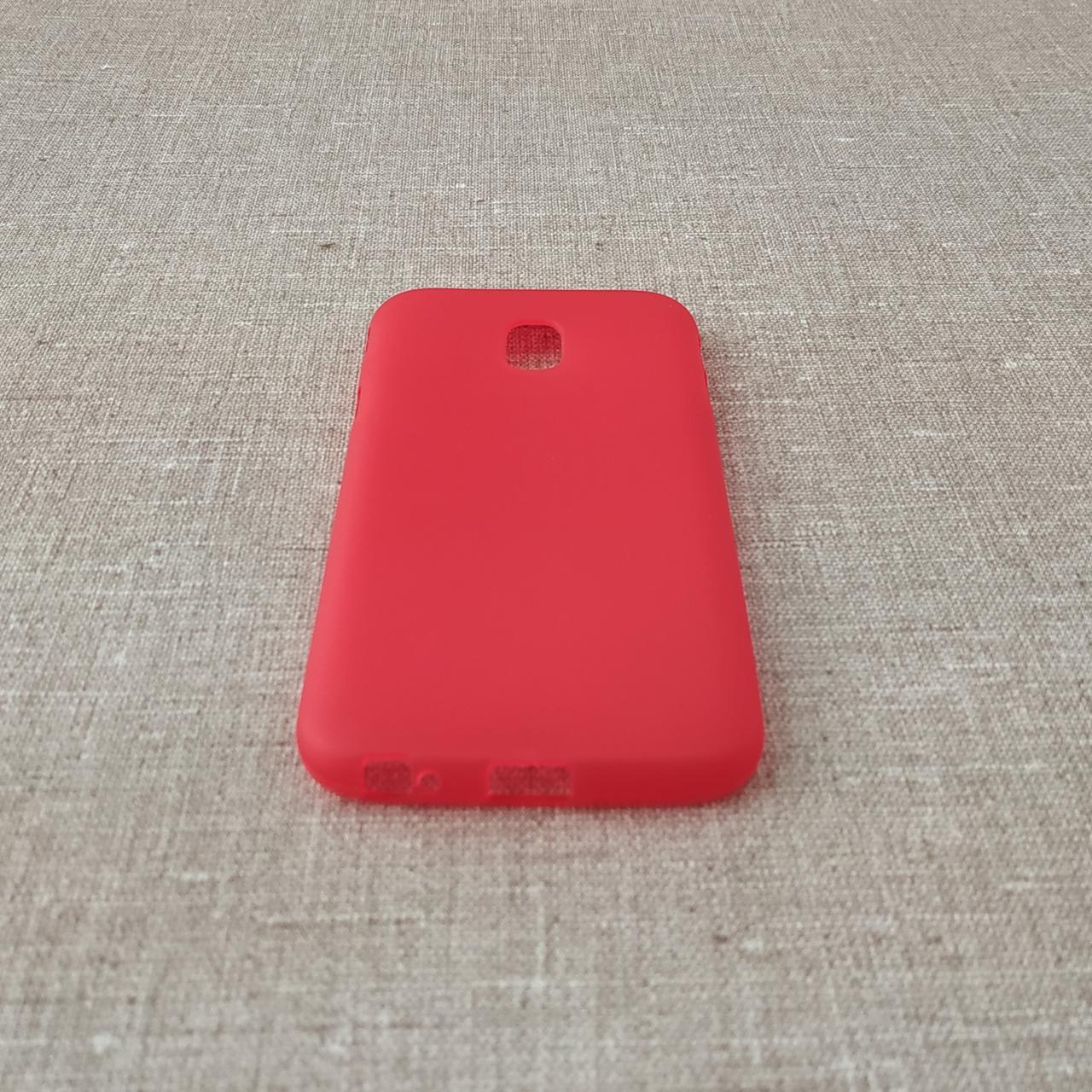 Чехлы для Samsung Galaxy J3 (2017) J330F TPU J330 red (J330) 2017 Для телефона