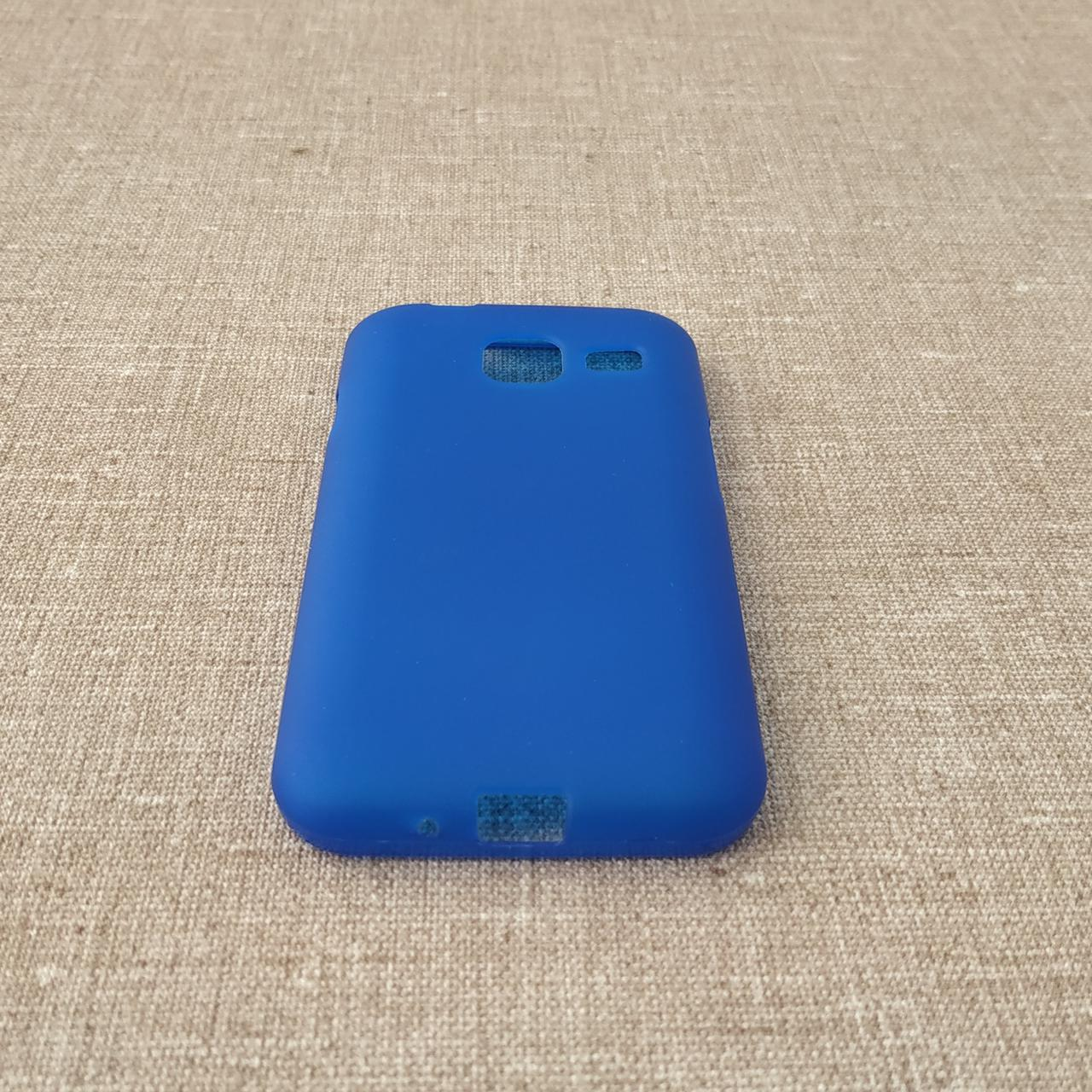 TPU Samsung Galaxy J105 blue Для телефона