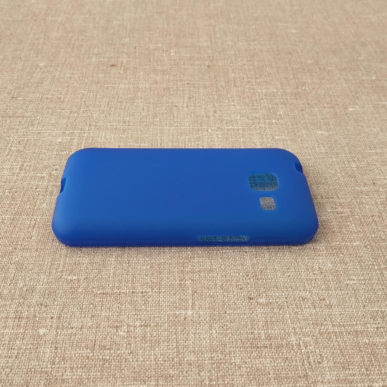 TPU Samsung Galaxy J105 blue Для телефона J1 mini (2016)