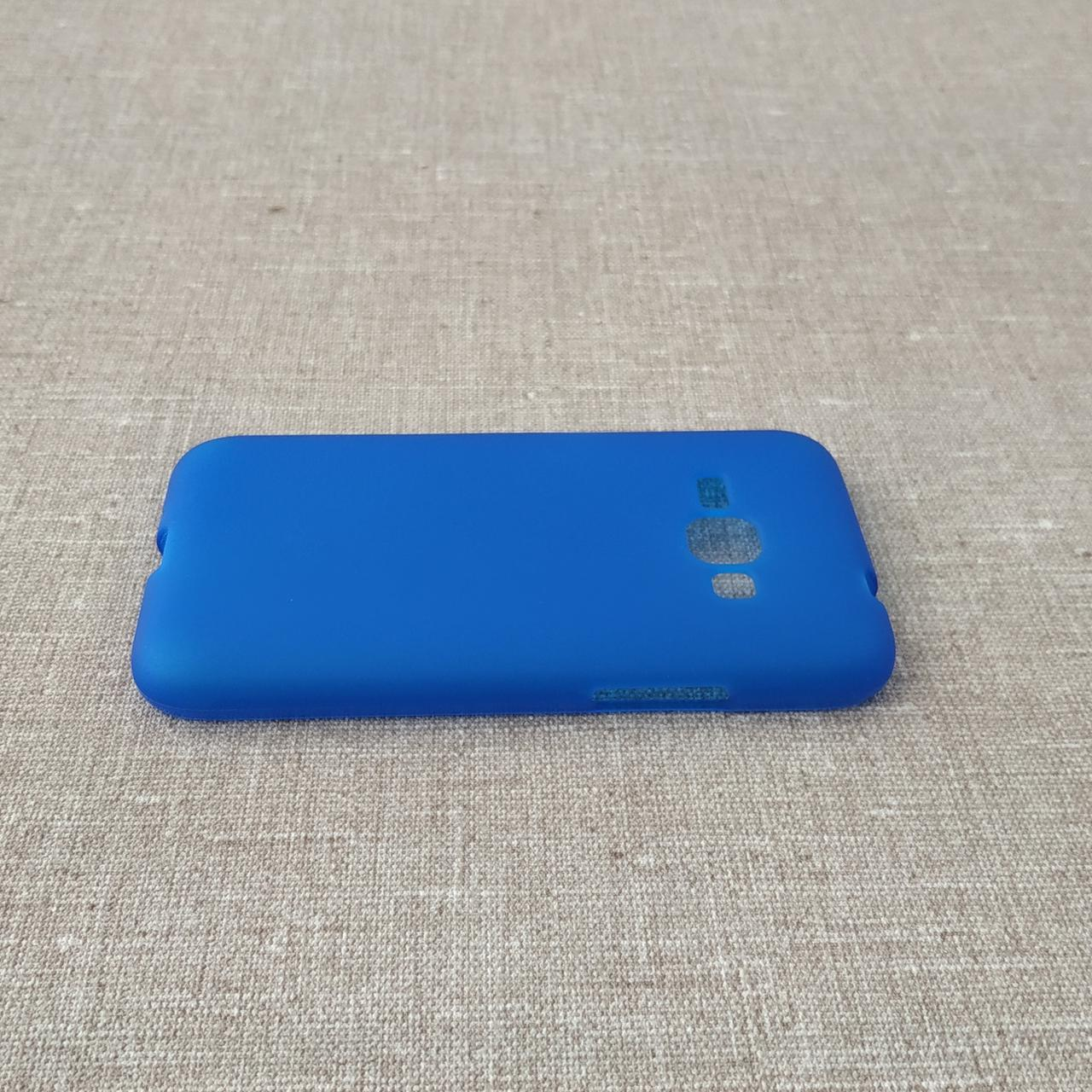 TPU Samsung Galaxy J120 blue Для телефона J1(2016)