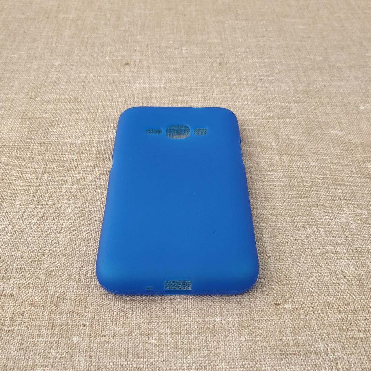 TPU Samsung Galaxy J120 blue Для телефона