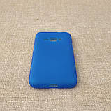 Чехол TPU Samsung Galaxy J120 blue, фото 3