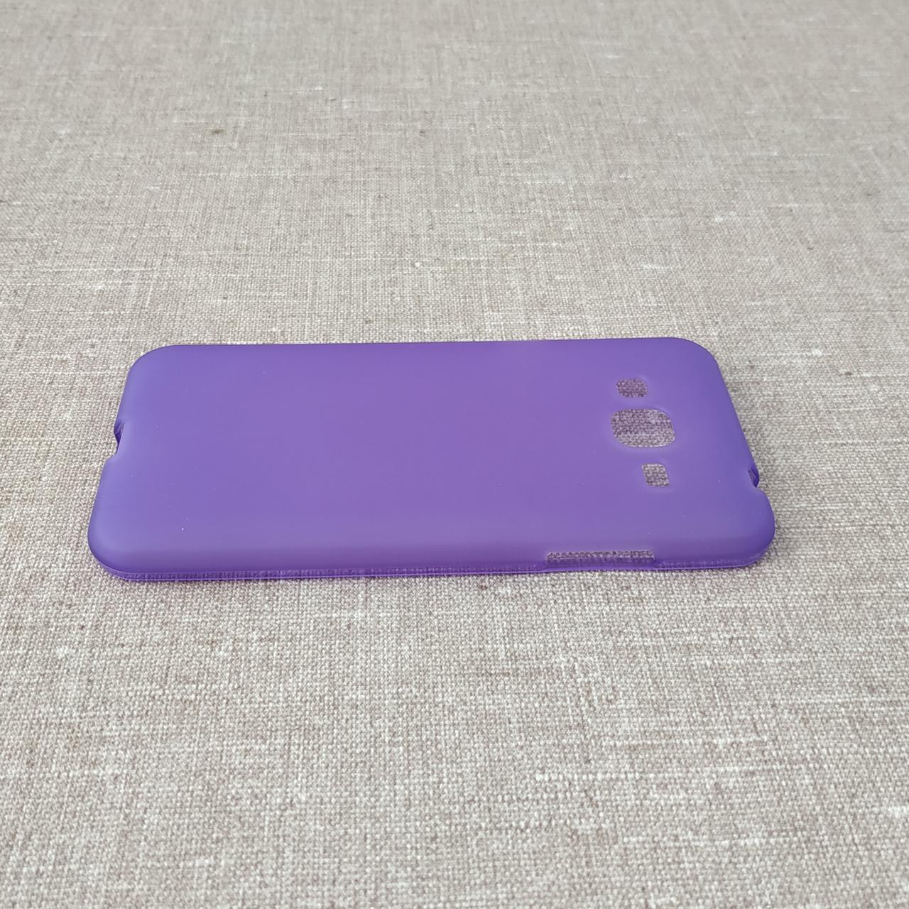 TPU Samsung Galaxy J320 violet J3 (J337) 2018