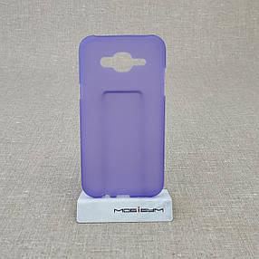 Чехол TPU Samsung Galaxy J500 violet, фото 2