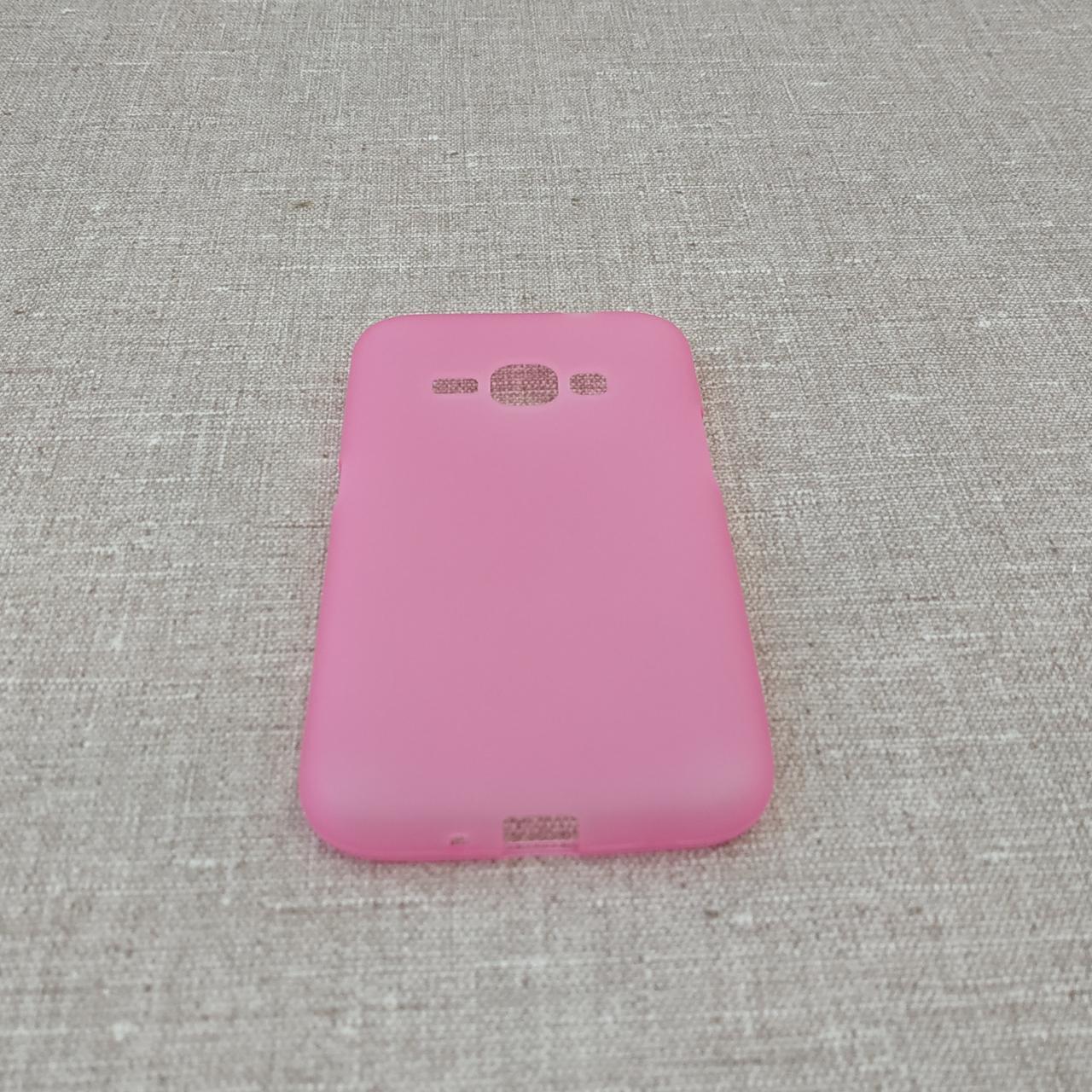 Чехлы для Galaxy J Series (остальные модели) TPU Samsung J120 pink Для телефона