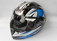 Шлем- трансформер BLD №-158 черно-синий