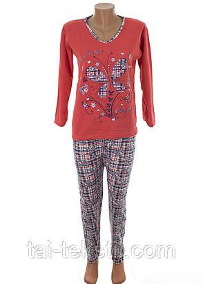 К.S.M пижама женская на байке разные цвета и накатки Турция, фото 2
