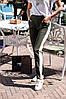 """Женские штаны """"Лампас"""" с карманами в расцветках, р-р 48-52. ВФ-3-1-0918, фото 3"""