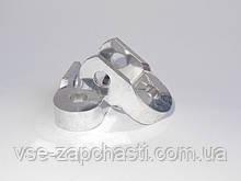 Удлинители амортизаторов длинные 50 мм алюминий Poch