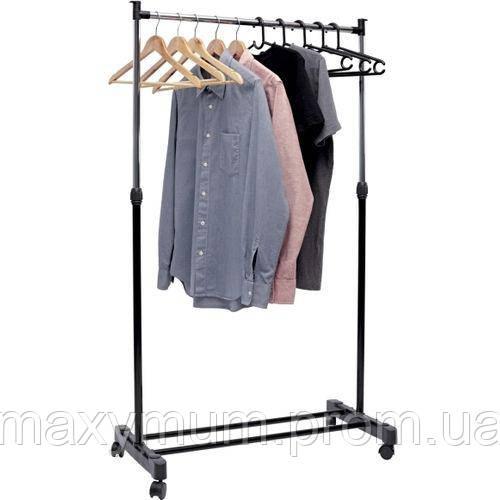 Вешалка для одежды напольная на колесиках IDA