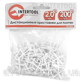 Набор дистанционных крестиков для плитки INTERTOOL HT-0351