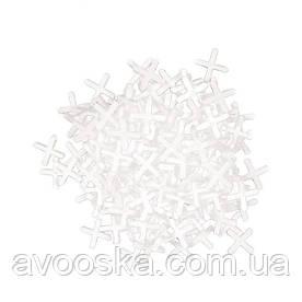 Набор дистанционных крестиков для плитки INTERTOOL HT-0352